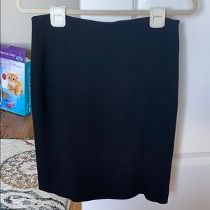 Black Ann Taylor Loft Pencil Skirt